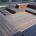 London roof terrace design